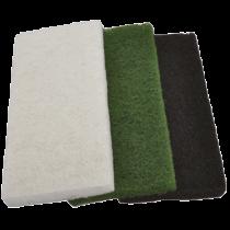 Vliesauflage 12 x 24 cm für Pad-Brett - mittel, grün