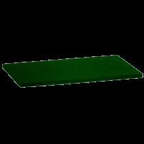 Ersatzauflage Fugbrett - 14 x 28 cm Zellkautschukauflage, grün