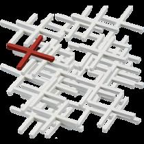 Fliesenkreuze - 4,0 mm Kunststoff - Beutel à 250 Stück