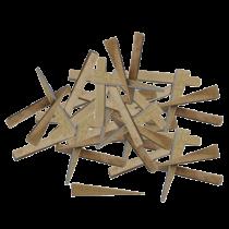Fliesenkeile - Buchenholz Beutel à 250 Stück
