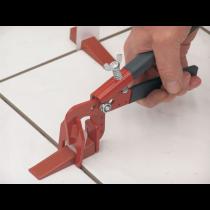 Nivelliersystem Planfix Basis-Set - Inhalt: 1x Zange   100x Keile   100 Zuglaschen (3 - 12 mm)
