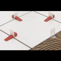 Nivelliersystem Planfix Keile - Beutel à 100 Stück