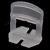Rinklake Nivelliersystem NVS-PRO Zuglaschen, 2 mm - für 3 - 12 mm - Beutel à 400 Stück