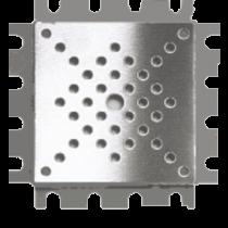 Kleberahmen Edelstahl 20 x 20 cm - Höhe 12,5 mm