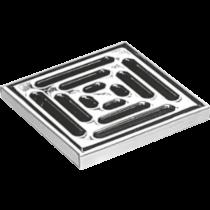 Renovierungsrahmen aus Edelstahl mit Rost - 15 x 15 cm