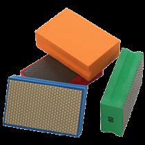 Diamant-Handpad - orange - Korn 3000 -
