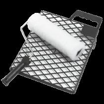 Farbroller-Garnitur - Vestan - 18 cm Rolle mit Gitter