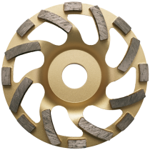 """Diamantschleiftopf """"Universal Gold"""" 125 mm - Premium Ausführung -"""