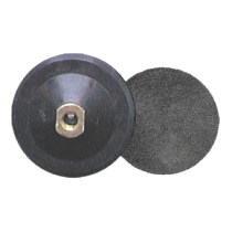 Aufnahmeteller - M 14 115 mm - Moosgummi - Kletthaftsystem