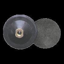 Aufnahmeteller - M 14, 100 mm - Moosgummi - Kletthaftsystem -
