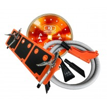 Spar Bunde Trockenschnittmaschine bestehend aus: Scheibe, Schlauch und Anschlag zu Trockenschnittmaschine IQTS244