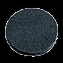 Padscheibe - schwarz, grob