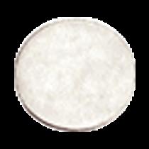 Padscheibe - weiß, fein