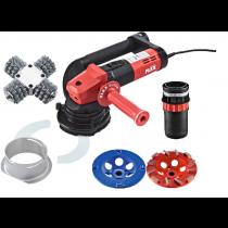 Flex Retec Flex-Set - Sanierungsschleifer Flex 115 mm incl. 3 Schleifköpfen