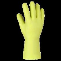 Fliesenlegerhandschuhe gelb Gr. S  (7)