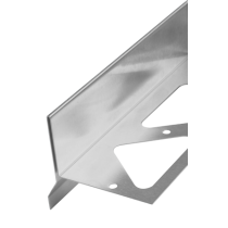 Edelstahl-Randschutz RRTTE 85 à 2,50 m