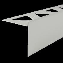 Aluminium-Randschutz RRFA 95/11 HG à 2,50 m - hellgrau