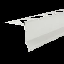 Aluminium-Randschutz RRFTA 95/11 HG à 2,50 m - hellgrau