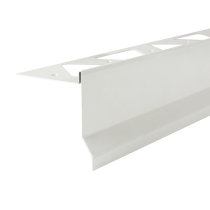 Aluminium-Randschutz RRFTA 75/13 HG à 2,50 m - hellgrau