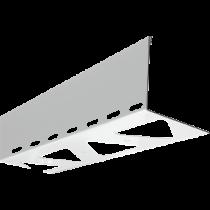 Aluminium-Randschutz mit Drainage RRLA-D 95 HG à 2,50 m - hellgrau