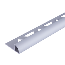 Aluminium-Fliesenschiene FAR-AE 100 à 2,50 m Viertelkreis eloxiert
