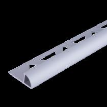 Aluminium-Fliesenschiene FAR-AE 80 à 2,50 m - Viertelkreis - ELOXIERT