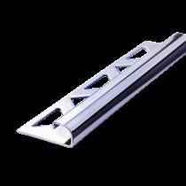 Edelstahl-Fliesenschiene FER-S/BC 110 à 2,50 m verchromt