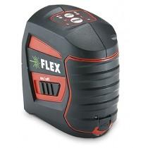 FLEX Akku Kreuzlinien-Laser (grün) selbstnivellierend