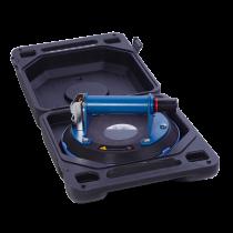 Pump-Saugheber aus Kunststoff - bis 110 kg mit Kunststoffgriff - Ø 200 mm - ROT