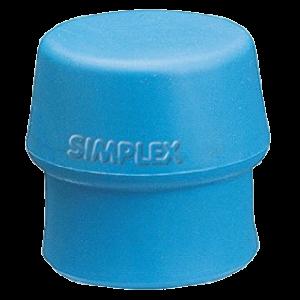 """Schonhammer-Ersatzgummi """"Simplex"""" - 50 mm weich"""